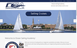 OSA Sail web screen shot
