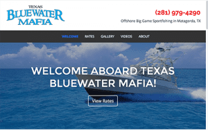 Texas Blue Water Mafia web Screen shot