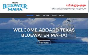 Texas Blue Water Mafia web Screen shot
