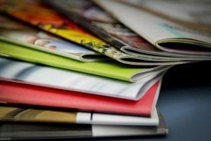 brochures blur