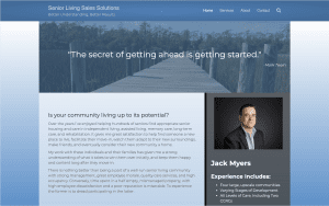 Senior Living Sales Solutions website