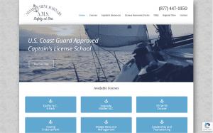 Adams Marine Seminars website
